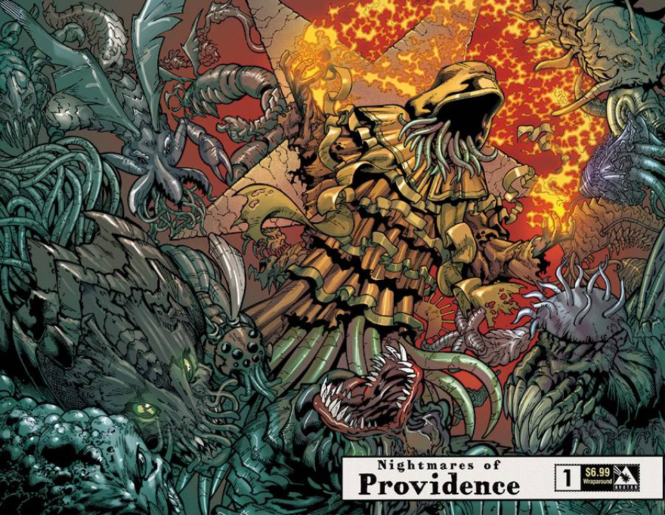 Nightmares of Providence #1 (Wrap Cover)