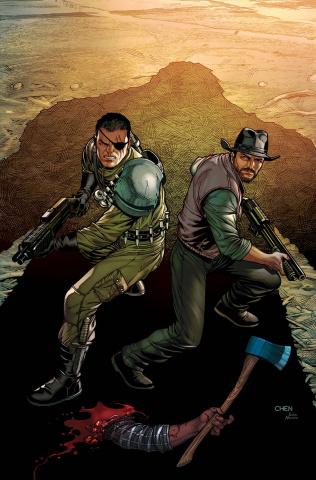 Monster Hunters' Survival Guide Case Files: Wendigo #1 (Chen Cover)