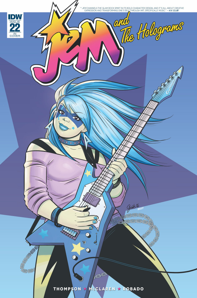 Jem and The Holograms #22 (10 Copy Cover)