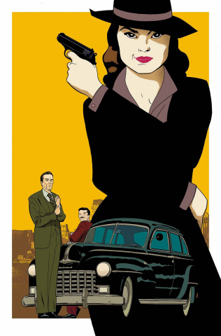 The Guide to the Marvel Cinematic Universe: Agent Carter, Season One #1