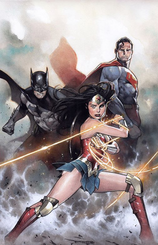 Justice League #32 (Card Stock Cover)
