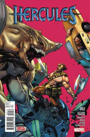 Hercules #2 (Mann 2nd Printing)