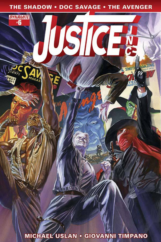 Justice, Inc. #6 (Ross Cover)