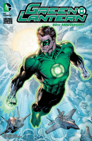Green Lantern 80th Anniversary 100 Page Super Spectacular #1 (2010s Cover)