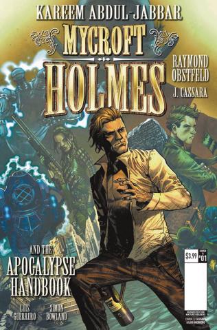 Mycroft Holmes #1 (Cassara Cover)