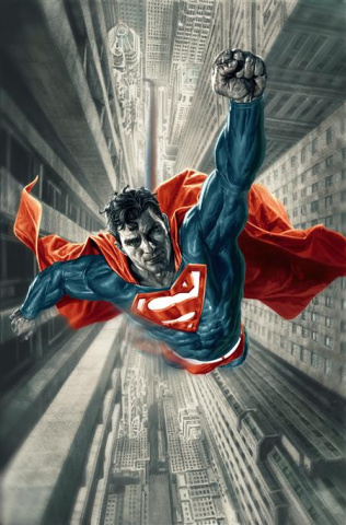 Superman: Red and Blue #1 (Lee Bermejo Cover)