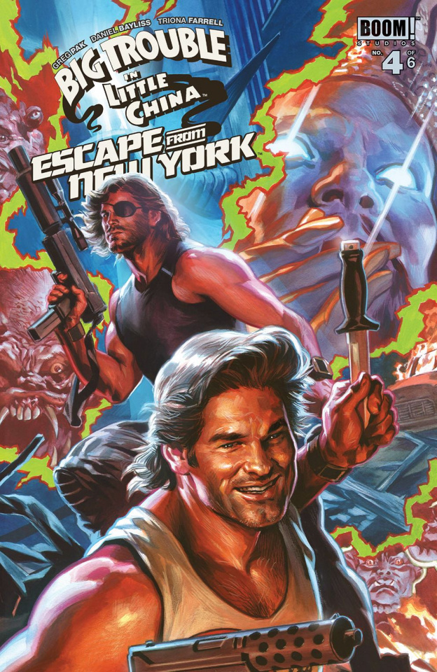Big Trouble in Little China / Escape from New York #4 (Subscription Mas Cover)