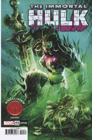 The Immortal Hulk #42 (Lozano Knullified Cover)