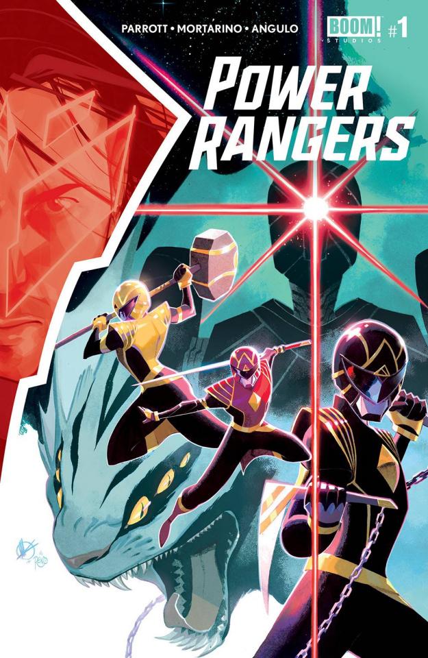 Power Rangers #1 (Scalera Cover)