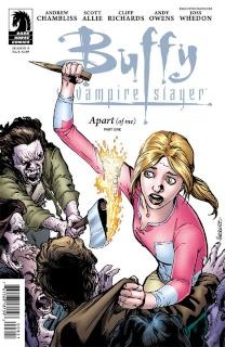 Buffy the Vampire Slayer, Season 9: Freefall #8 (Jeanty Cover)