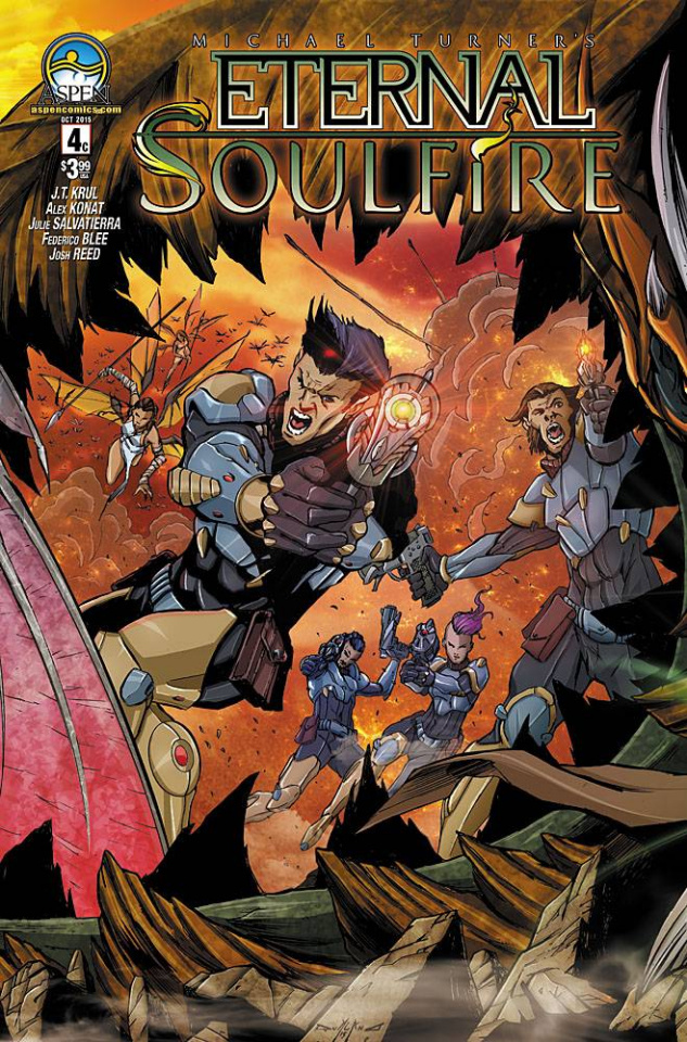 Eternal: Soulfire #4 (Direct Market Cover C)
