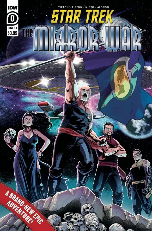 Star Trek: Mirror War #0 (Nieto Cover)