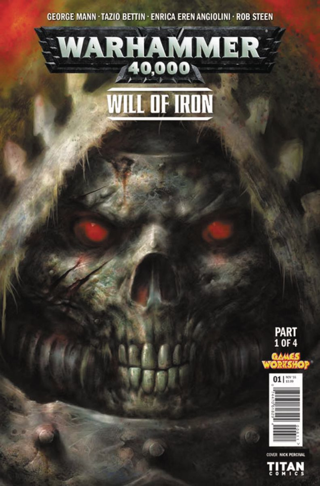 Warhammer 40,000: Will of Iron #1 (Percival Cover)