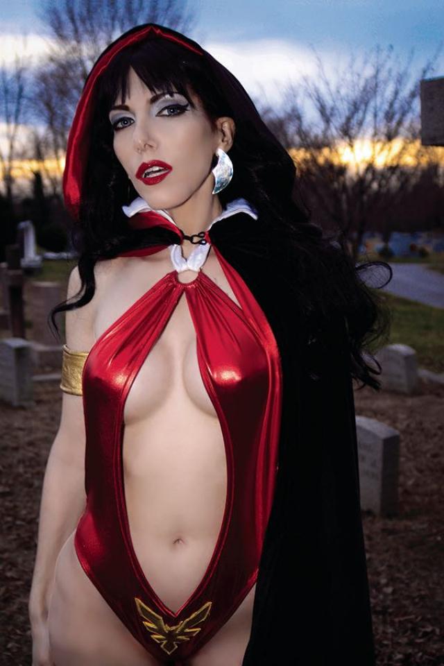 Vampirella vs. Reanimator #2 (30 Copy Cosplay Virgin Cover)