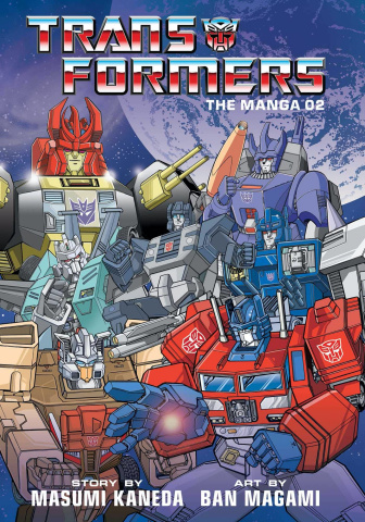 The Transformers: Classic TV Magazine Manga Vol. 2