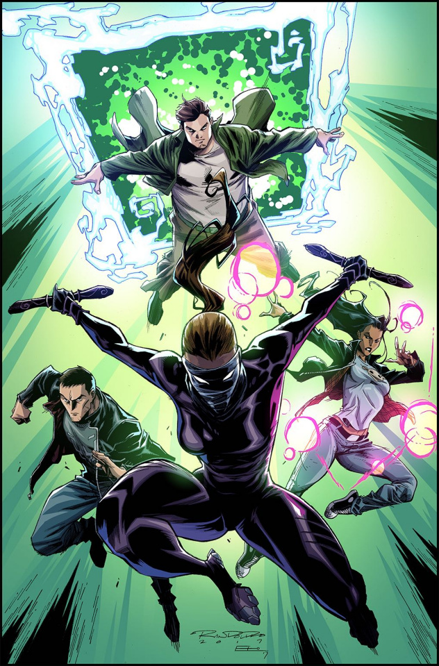 Catalyst Prime: Incidentals #1 (5 Copy Randolph Cover)