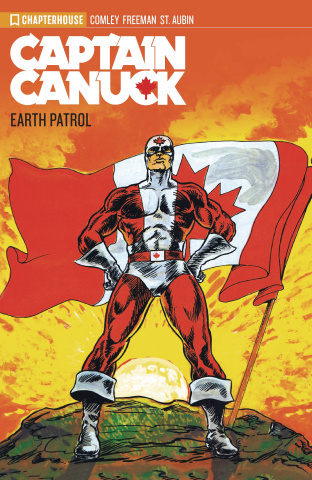 Captain Canuck Archives Vol. 1: Earth Patrol