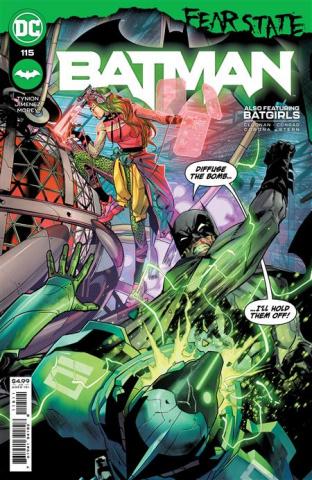 Batman #115 (Jorge Jimenez Cover)