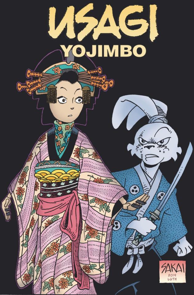 Usagi Yojimbo #2 (Sakai Cover)