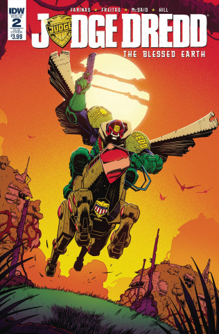 Judge Dredd: The Blessed Earth #2 (Subscription Cover)