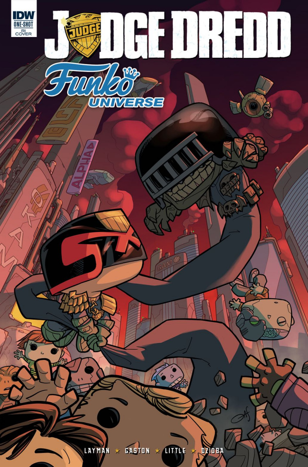 Judge Dredd: Funko Universe (25 Copy Cover)