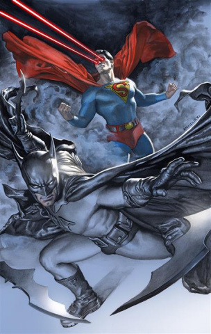 Batman / Superman #17 (Rodolfo Migliar Card Stock Cover)