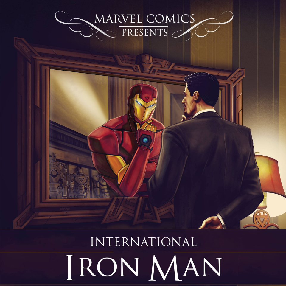 International Iron Man #1 (Dalfonso Hip Hop Cover)