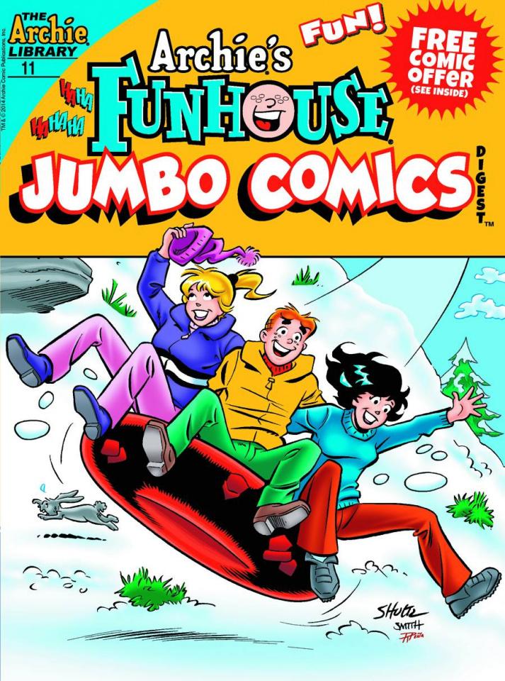 Archie's Funhouse Comics Jumbo Digest #11