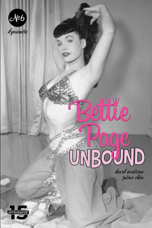 Bettie Page: Unbound #6 (Photo Cover)