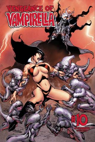Vengeance of Vampirella #10 (Castro Bonus Cover)