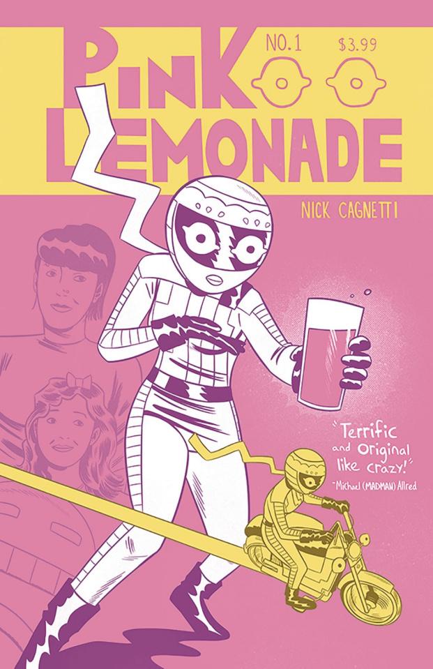 Pink Lemonade #1 (Nick Cagnetti Cover)