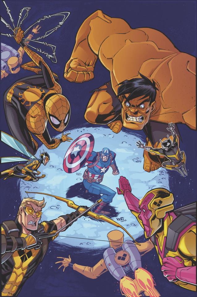 Marvel Action: Avengers #10 (Sommariva Cover)
