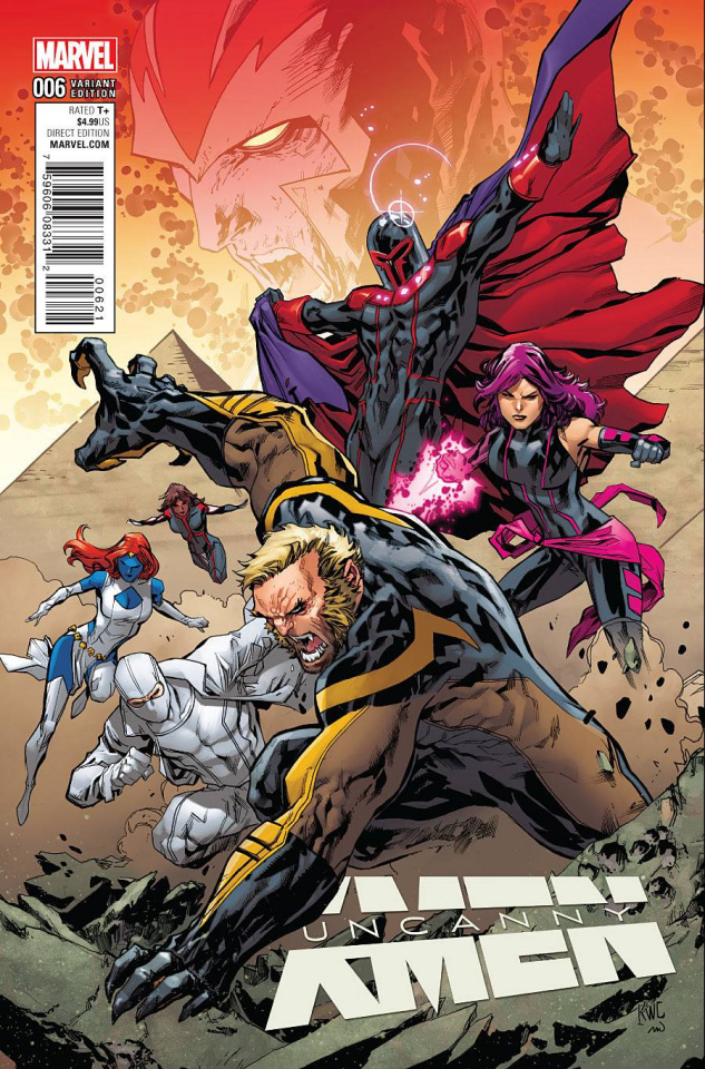 Uncanny X-Men #6 (Lashley Connecting Cover)