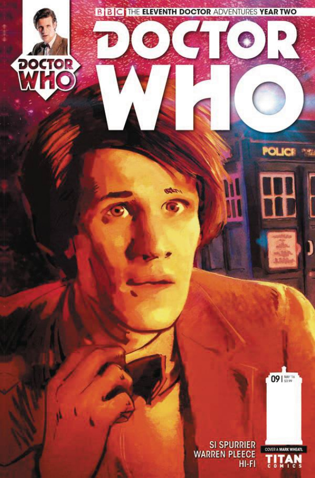 Doctor Who: New Adventures with the Eleventh Doctor, Year Two #9 (Wheatley Cover)