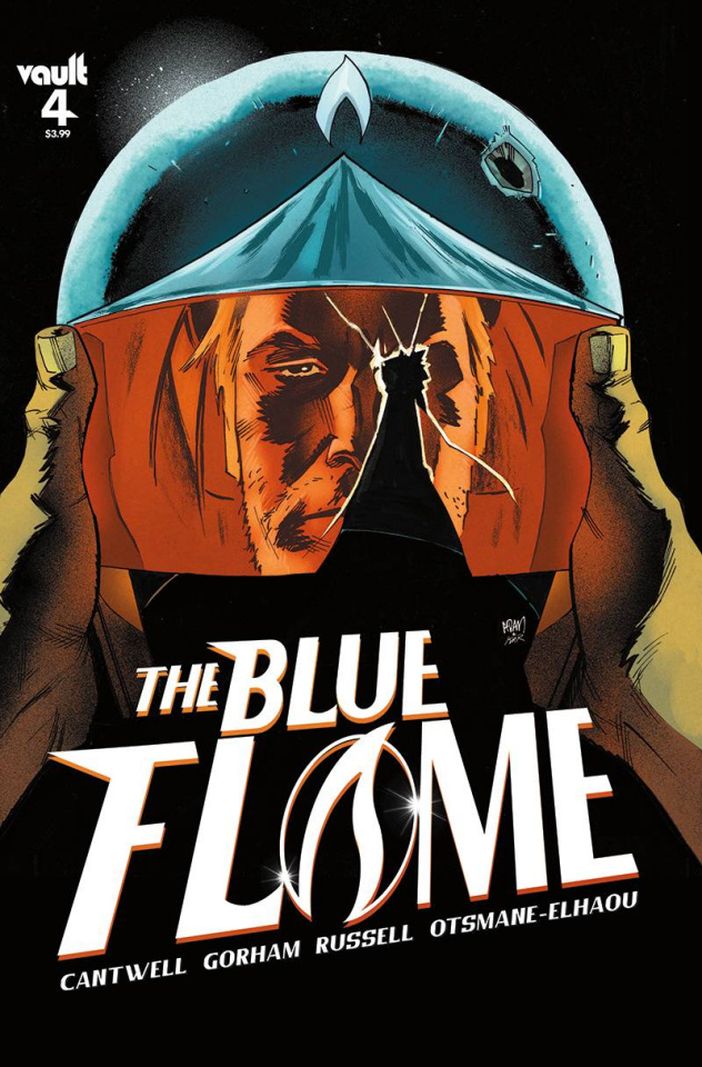 The Blue Flame #4 (Gorham Cover)