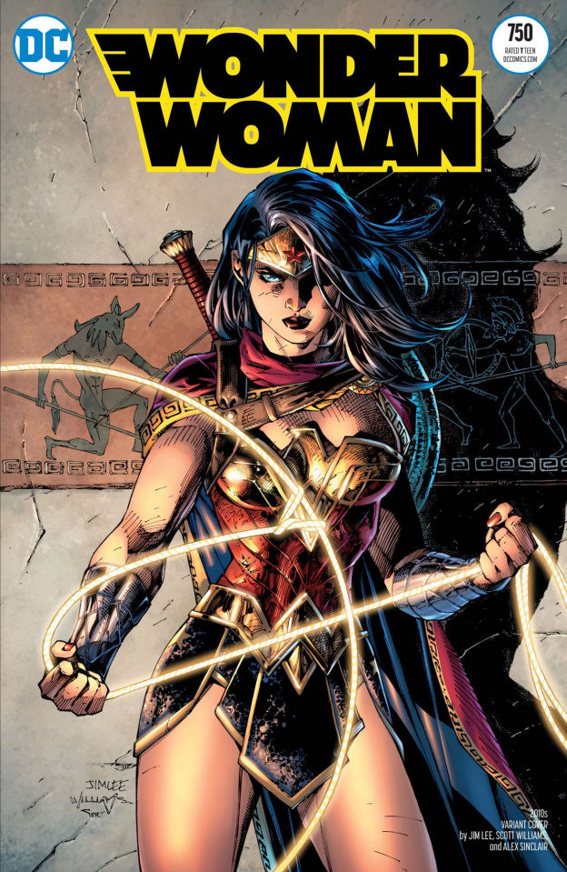 Wonder Woman #750 (Jim Lee Pencils 1:100 Cover)