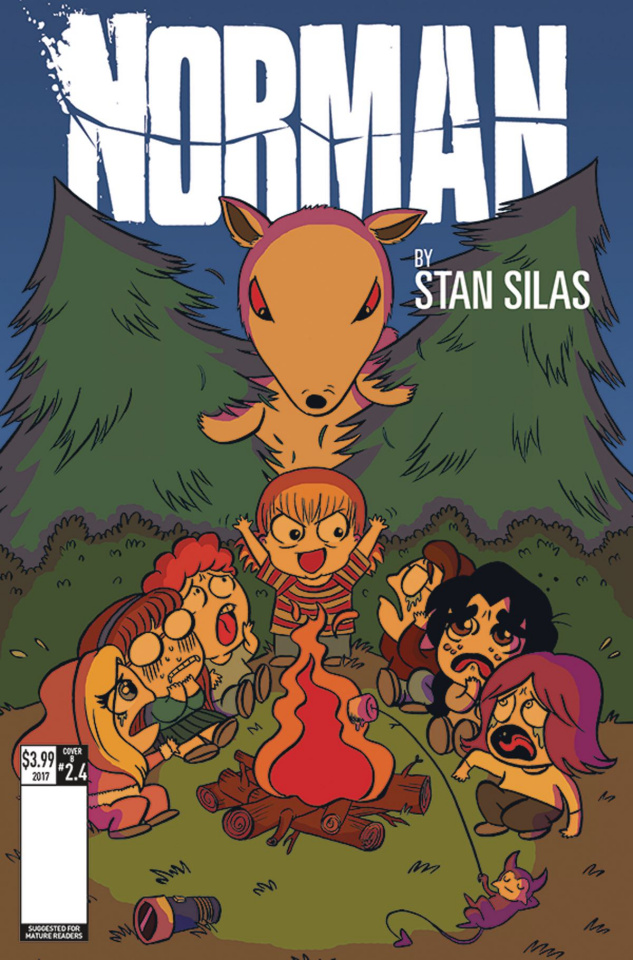 Norman: The First Slash #4 (Smith Cover)