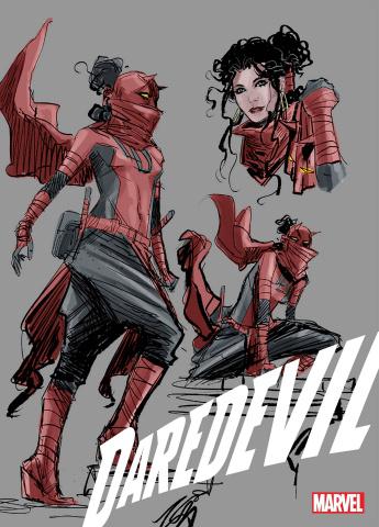 Daredevil #25 (Ratio Design 2nd Printing)