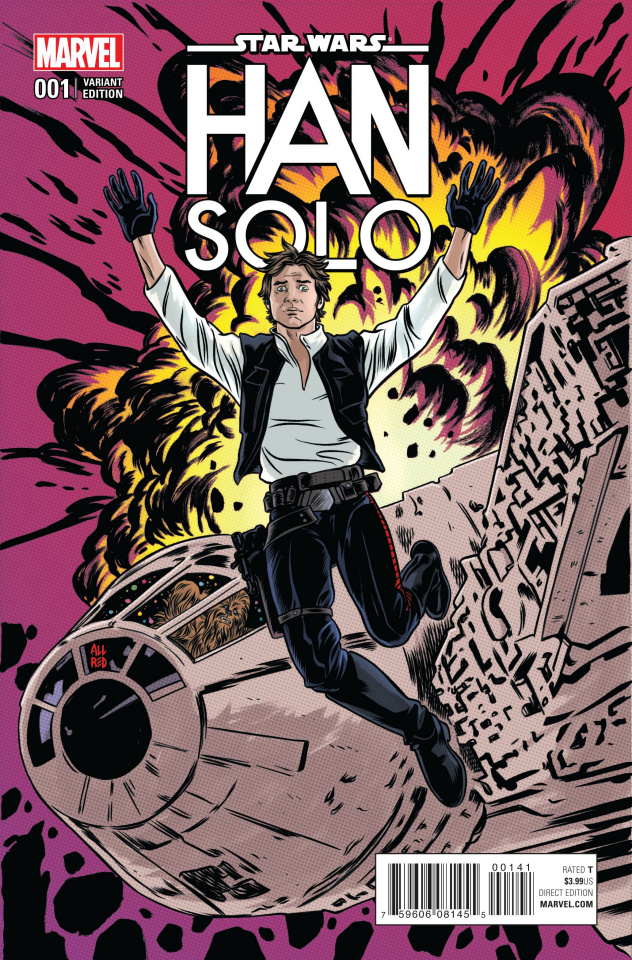 Star Wars: Han Solo #1 (Allred Cover)