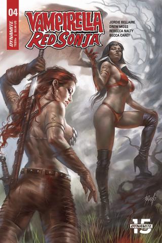Vampirella / Red Sonja #4 (Parillo Cover)