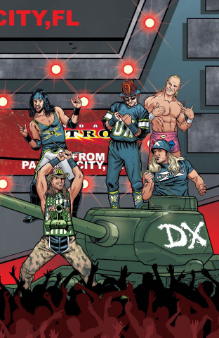 WWE #16 (Schoonover Raw Connecting Cover)