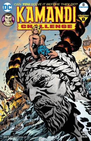 The Kamandi Challenge #8 (Variant Cover)