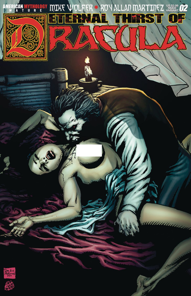 Eternal Thirst of Dracula #2 (Ravage Nude Cover)