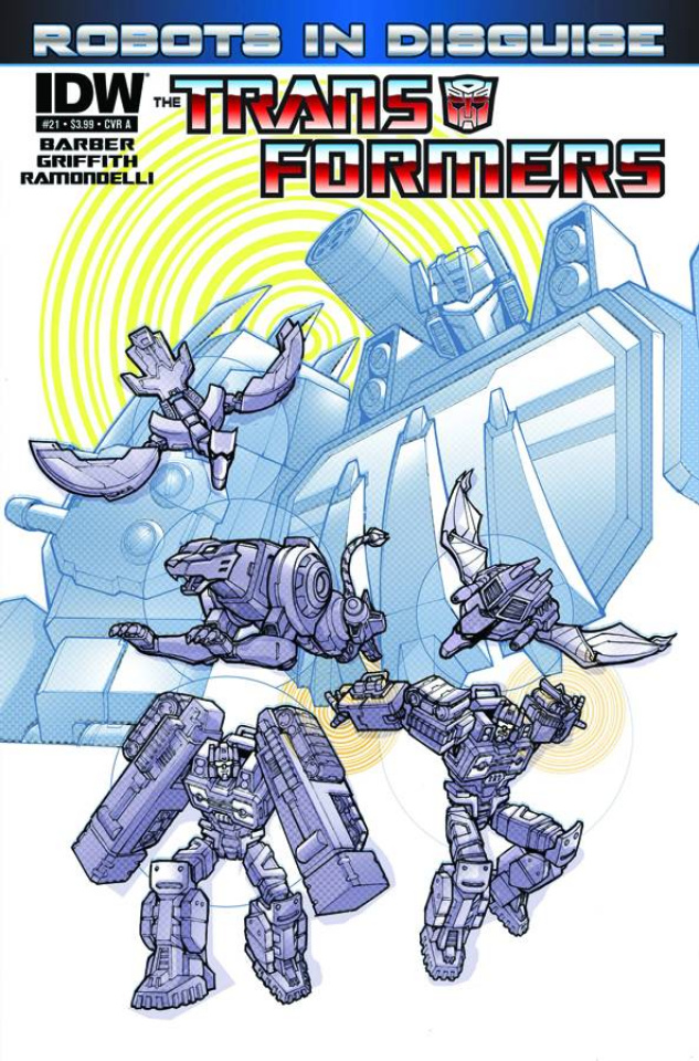 The Transformers: Robots in Disguise #21