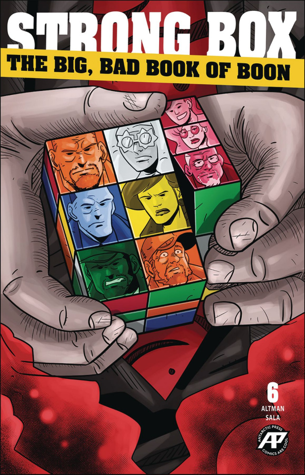 Strong Box: The Big, Bad Book of Boon #6