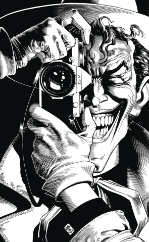 Joker: An Adult Coloring Book