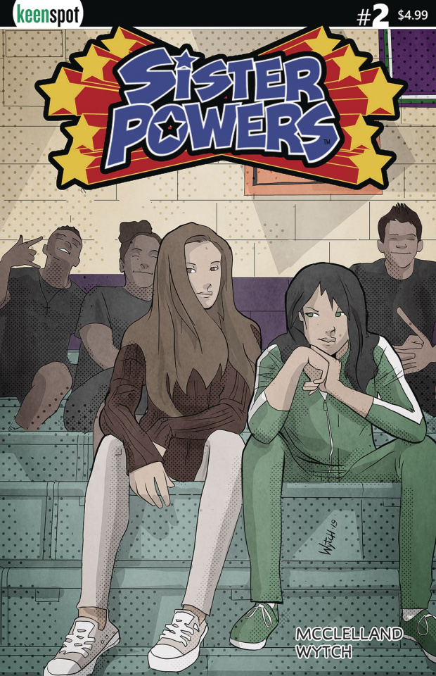 Sister Powers #2 (Wytch Cover)
