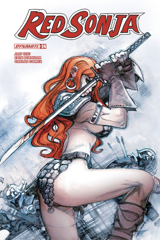 Red Sonja #24 (Moritat Cover)