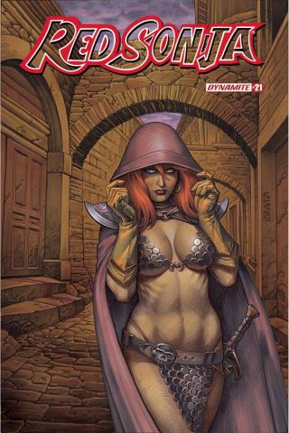 Red Sonja #21 (Linsner Cover)