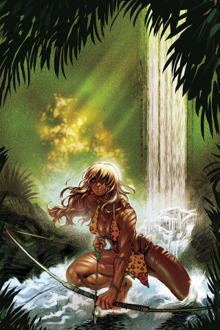 Sheena #1 (10 Copy Moritat Virgin Cover)